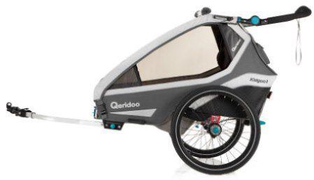Qeridoo KidGoo1 (2020) Fahrradanhänger für 379,99€ (statt 449€)