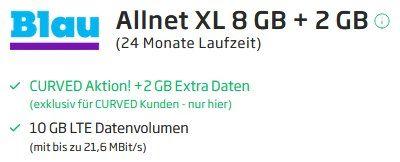 Huawei P Smart 2021 inkl. Huawei Freebuds 3 für 1€ + o2 Allnet Flat von Blau mit 10GB LTE für 11,99€ mtl.