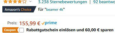 Bomaker C9   1280p Mini LED Beamer mit WLAN & BT für 95,99€ (statt 156€)