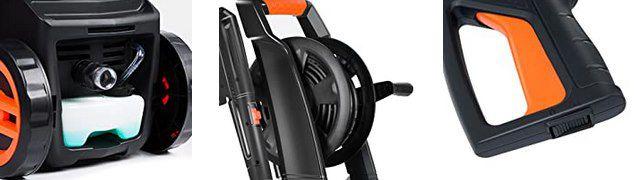 PAXCESS 1800W Hochdruckreiniger mit max. 140bar & 420l/h für 83,99€ (statt 140€)