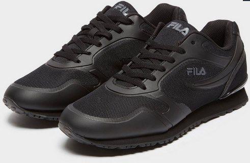Fila Forerunner 18 Sneaker in Schwarz für 25€ (statt 55€)