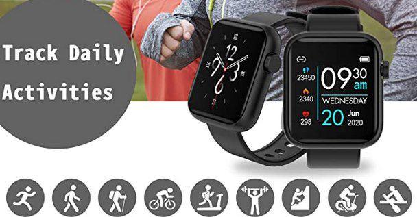 Fitnesstracker DX20 inkl. Schlafmonitor & Herzfrequenzmonitor für 16€ (statt 35€)