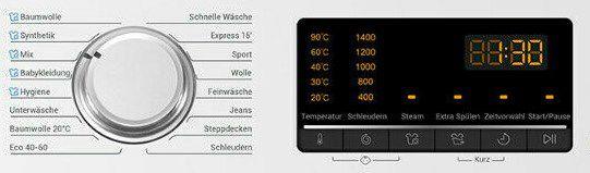 Haier HW100 B1439N Waschmaschine (10kg) für 341,91€ (statt 409€)