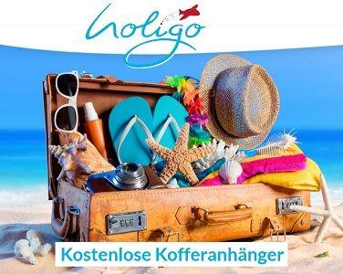 Holigo: Kostenloser Kofferanhänger