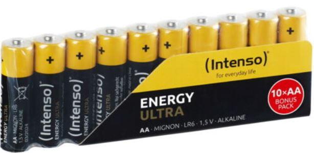 Intenso Energy Ultra AA Mignon Batterien 100er Pack für 17,99€ (statt 25€)