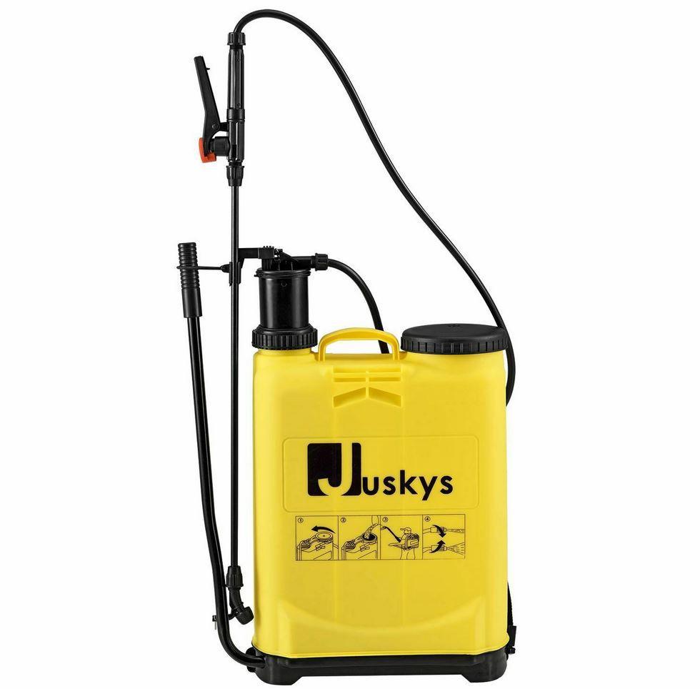 Juskys DSF16L Drucksprüher mit 16L Volumen + Tragegurt für 17,95€ (statt 20€)