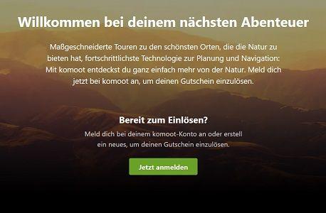 Komoot: Regionenpaket für die Oberbayern gratis (statt 8,99€)
