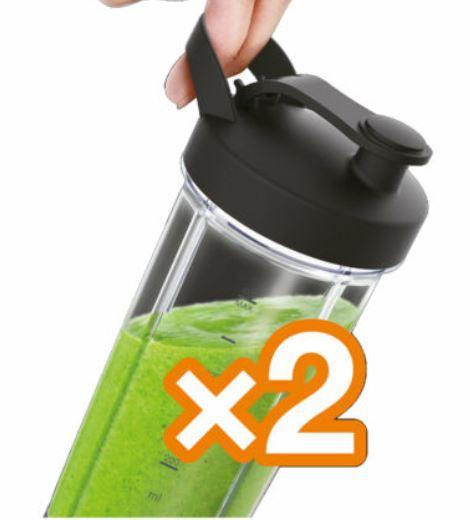 Krups Freshboost KB181D Smoothie Maker mit 4 Stufen für 29,90€ (statt 51€)