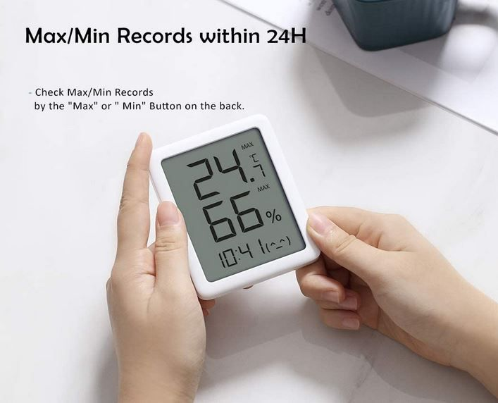Homidy digitales Thermo  und Innen Hygrometer für 9,73€ (statt 13€)