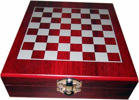 MK Handel Weinset 36 teilig in Holzbox inkl. Schachspiel für 9,80€ (statt 11€)  Tipp Doppelpack
