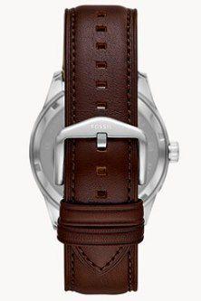 Fossil Herrenuhr Chapman Multifunktion Leder in Braun für 51,60€ (statt 84€)