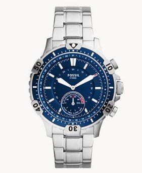 Fossil Hybrid Smartwatch Garrett Edelstahl für 79,60€ (statt vorher 199€)