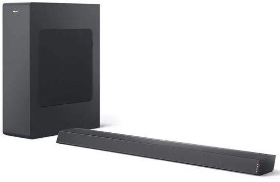 Philips TAB6305/10 Soundbar in Schwarz für 89,90€ (statt 176€)