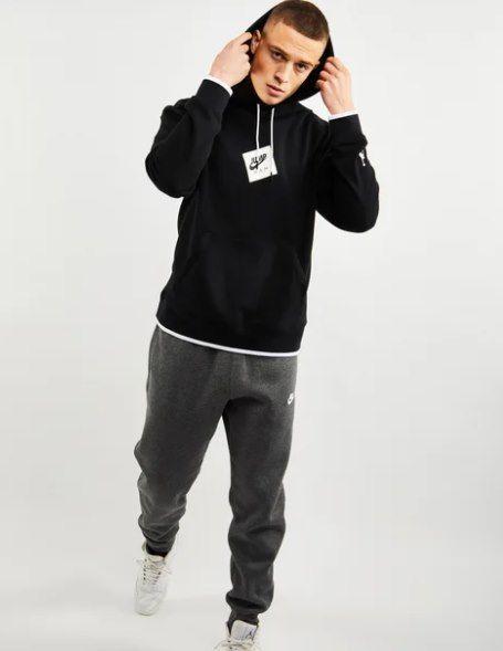 Jordan Jumpman Classics Over The Head Hoodie in schwarz für 39,99€ (statt 56€)