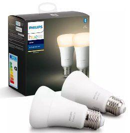 2er Pack Philips Hue White E27 LED Lampe mit Bluetooth für 20€ (statt 25€)