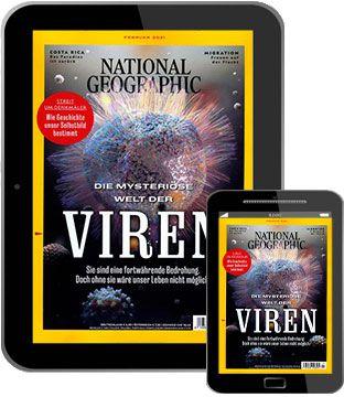 12 Ausgaben National Geographic Abo als E Paper für 49,96€ + Prämie: bis 50€ Gutschein