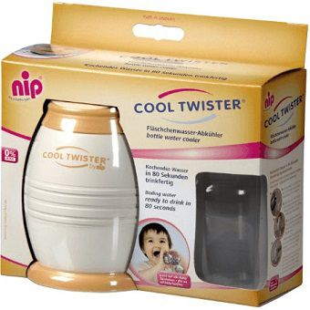 NIP Fläschenwasser-Abkühler COOL TWISTER first moments in orange/beige für 24,94€ (statt 33€)