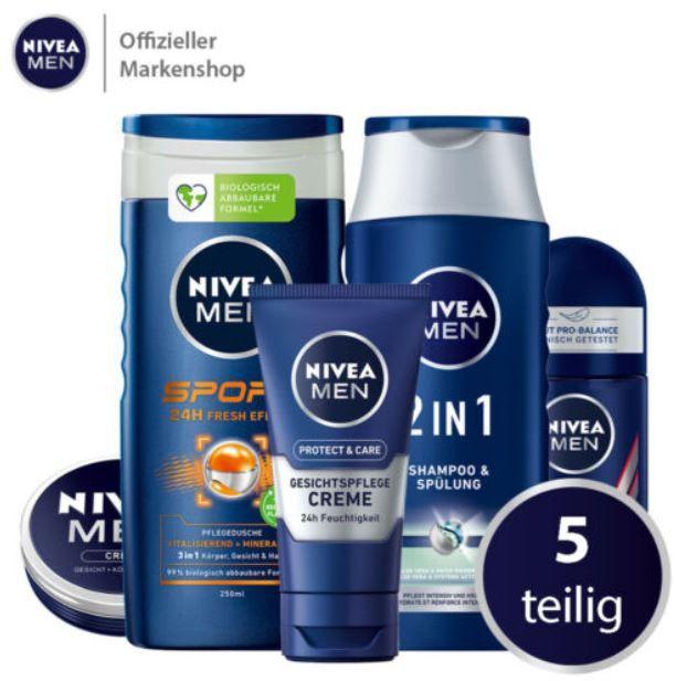 NIVEA Vorteilspack 5tlg. Pflege Produkte für 13,99€ (statt 17€)