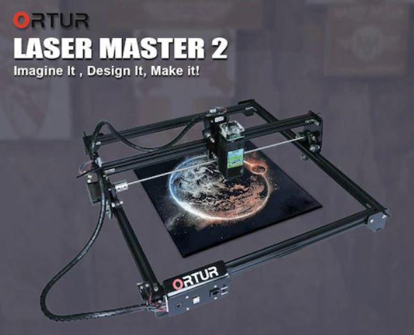 ORTUR Laser Master 2 Graviermaschine für 254,68€ (statt 300€)