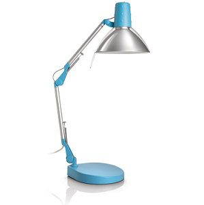 Philips 67200/35/16 Schreibtischlampe in blau für 12,95€ (statt 20€)