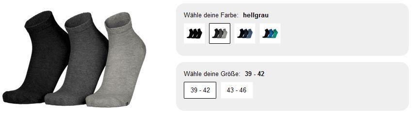 Skechers 24 Paar Quarter Herren Socken für 29,99€ (statt 60€)