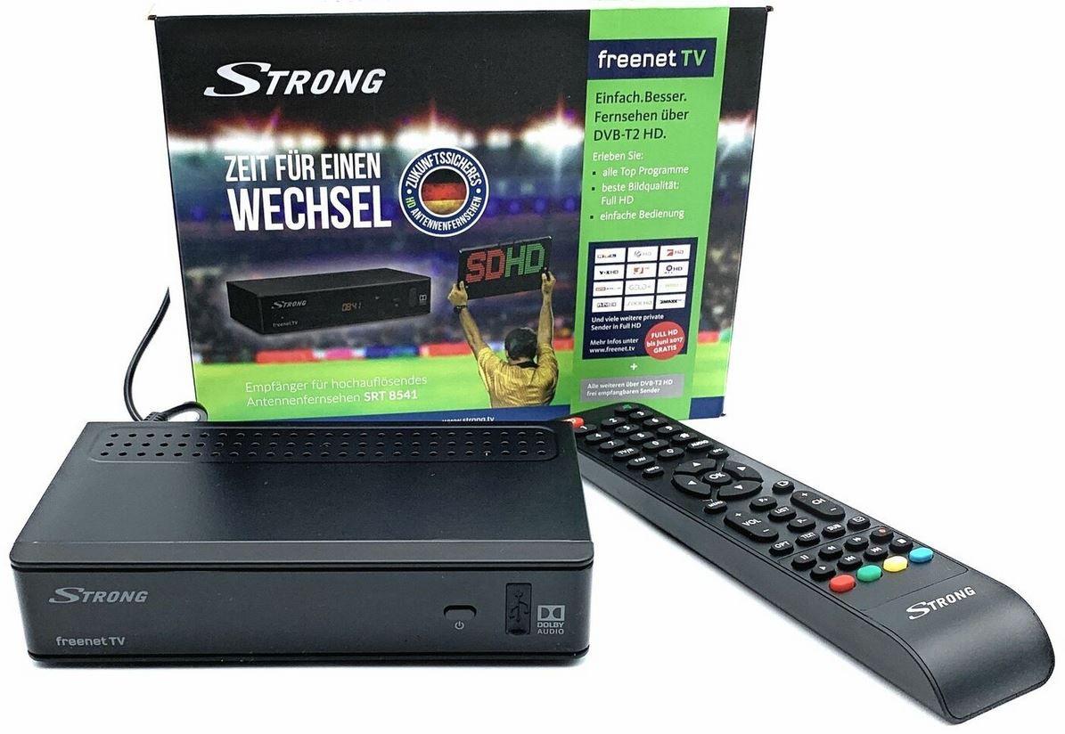 Strong SRT 8541 DVB T2 HD Receiver Mediaplayer für 17,99€ (statt 22€)