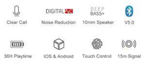 Tiksounds Q12 inEar BT 5.0 Kopfhörer für 14,99€ (statt 25€)   Prime
