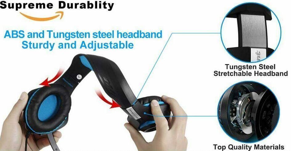 Beexcellent Gaming Headset [PC & Konsolen] für 15,99€ (statt 28€)