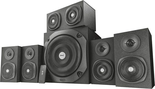 Trust Vigor 5.1 Surround Lautsprecher für 71,99€ (statt 80€)