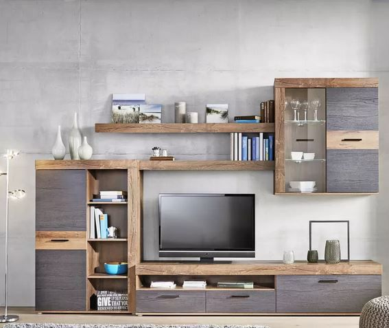 modern living Wohnwand (300/201/41cm) ab 273,30€ (statt 399€)