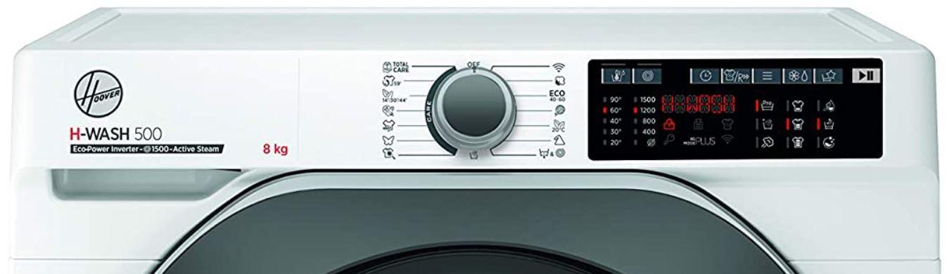 Hoover HWQ 58AMBS/1 S 8kg Waschmaschine mit Damof Funktion für 379,99€ (statt 496€)