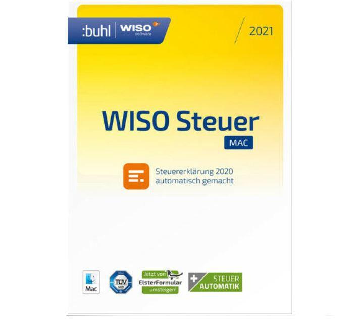WISO steuer: Mac 2021 (Steuerjahr 2020) Download Key für 18,99€ (statt 24€)