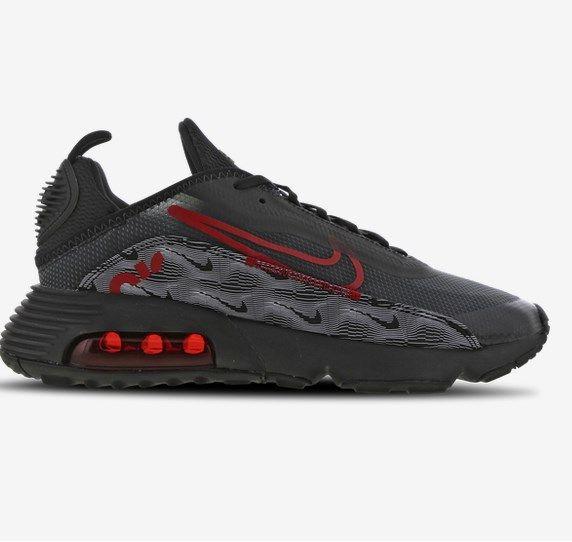 Nike Air Max 2090 Sneaker in Schwarz-Rot für 79,99€ (statt 155€)