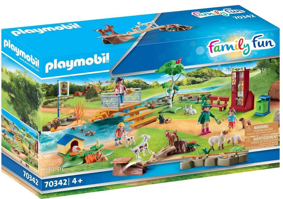 PLAYMOBIL Family Fun Erlebnis Streichelzoo für 24,98€ (statt 35€)