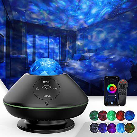 TATE GUARD LED Sternenhimmel mit 10 Farben, vielen Effekten & App-Steuerung für 23,49€ (statt 47€)