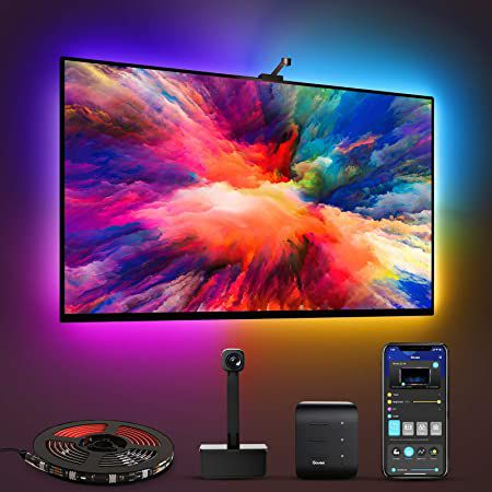 Ambilight Clone? Govee LED RGBIC TV Hintergrundbeleuchtung mit Sync für 53,79€ (statt 76€)