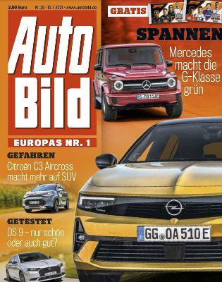 52 Ausgaben Auto Bild Abo für 150,80€ + Geldprämie (Scheck) 85,00€