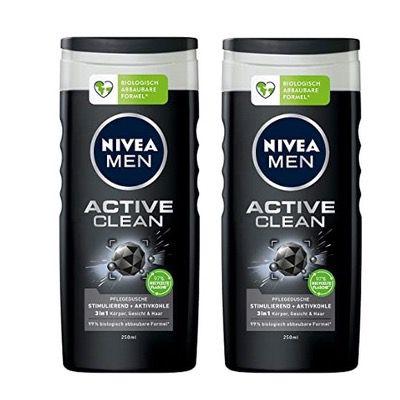 4x NIVEA MEN Active Clean Pflegedusche 250 ml für 4,02€ – Prime Sparabo (nur 1€ pro Stück)