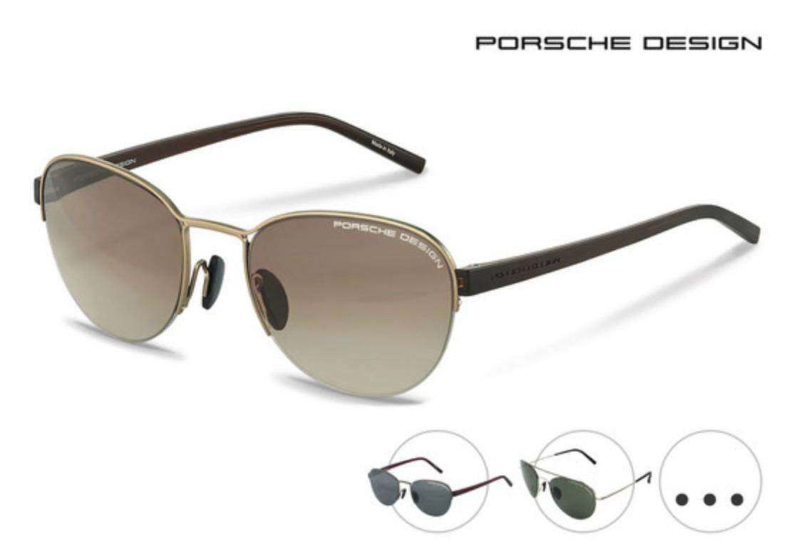 Div. Porsche Sonnenbrillen 80,90€ inkl. VSK (statt 129€)