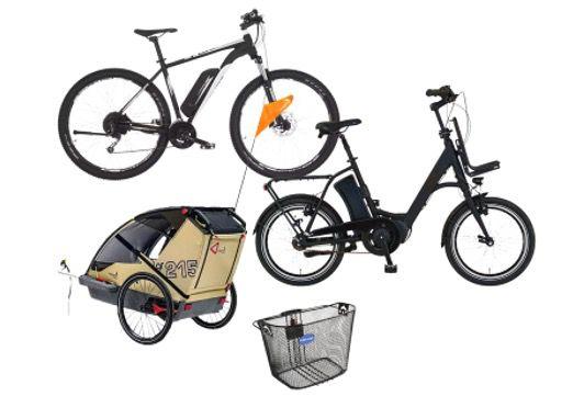 Saturn Tag des Fahrrads   z.B. LEGGERO Fahrradanhänger für 339€ (statt 400€)