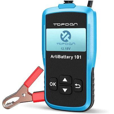 TOPDON AB101 Kfz Batterietester 12V 6V für 41,99€ (statt 70€)