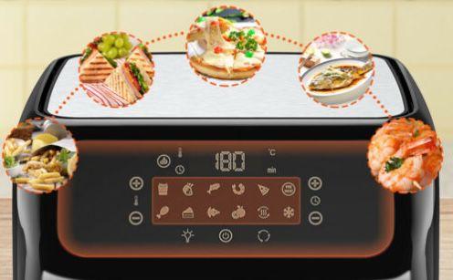 Aucma Heißluftfritteuse mit 12 Liter & Touch Control für 82,79€ (statt 90€)