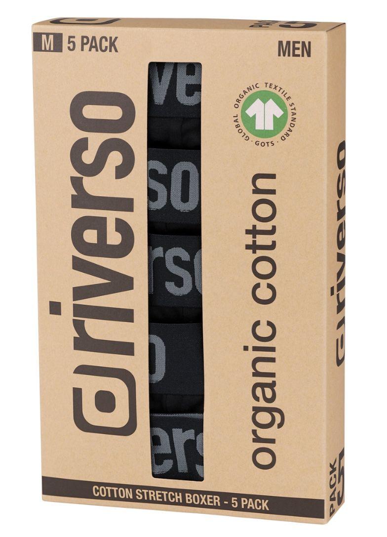 10er Pack Riverso Retro Trunks Boxershorts für 40€ (statt 57€)   bis Größe 6XL