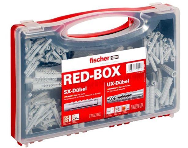 fischer Dübelbox mit 160 Universaldübeln UX + 130 Spreizdübeln SX für 15,91€ (statt 24€)   Prime