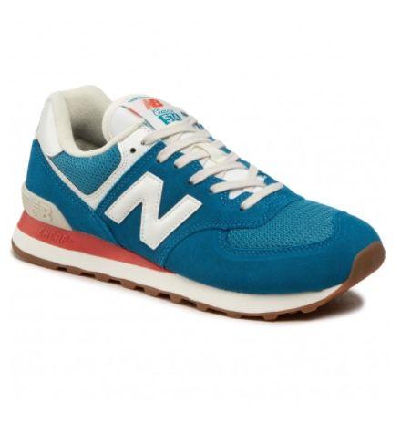 New Balance ML574HC2 Sneaker in Blau, Rot und Gelb zwischen 62€ und 69€(statt 90€)