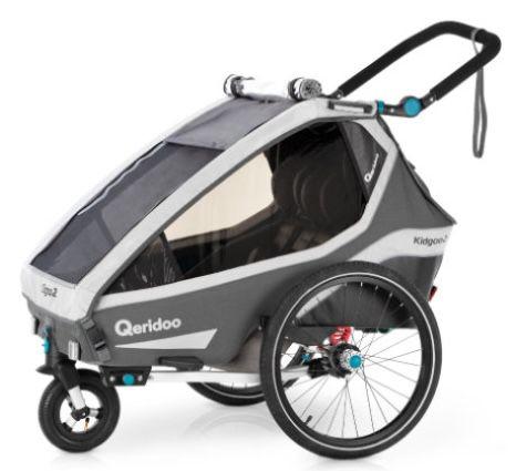 Babymarkt mit bis zu 70€ Rabatt auf Fahrradanhänger – z.B. Qeridoo Kidgoo2 (2020) für 495€ (statt 545€)