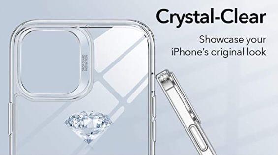 ESR Clear Hybrid iPhone 12 (Pro) Case für 3,43€ (statt 8€)   Prime