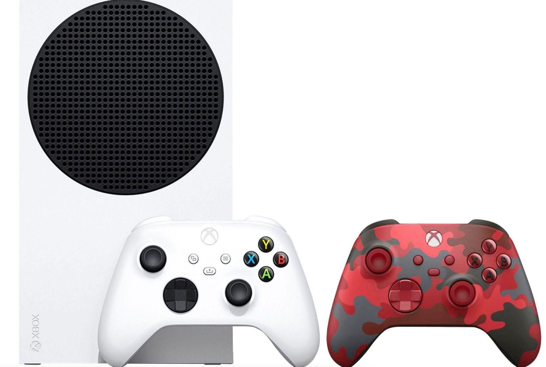 Xbox Series S inkl. 2. Controller im Daystrike Camo SE Design ab 269€ (statt 339€)