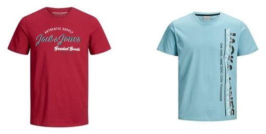 4er Pack T Shirts von Jack & Jones, Mustang uvm. zum Preis von 3   z.B. 4x Jack & Jones Shirt ab 28,96€