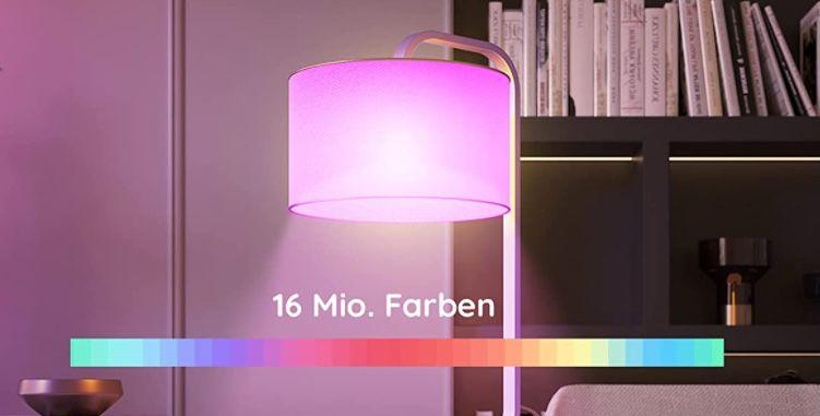 Govee WIFI LED Lampe dimmbar 9W E27 für 7,79€(statt 13€)   Prime